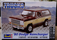 1980 Dodge Ramcharger suv, 1:25, Revell 4372 nuevo otra vez 2017