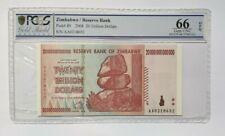 More details for zimbabwe pcgs gem unc 66 epq 20 trillion dollars