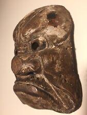 Antique Japanese Wooden Beshimi-Mask Muromachi-Momoyama PATINA