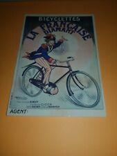 carte postale BICYCLETTES LA FRANCAISE DIAMANT