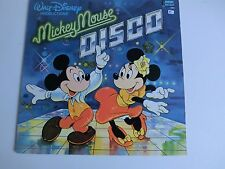 Mickey Mouse Disco Disneyland records 2504 Walt Disney LP