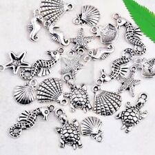 60pcs Lots Tibetan Antique Silver Charm Pendant Loose Other Jewelry Findings