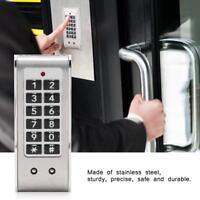 Electronic Digital Password Smart Code Door Lock Security Entry Lock Universal