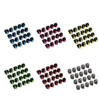 Pack 20 Standard Shape Dart Flights Tail Replacement Accessories - 6 Colors