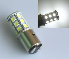 1x H6 BA20D White LED MotorBike Motorcycle Moped ATV Headlight Light Bulb 12V