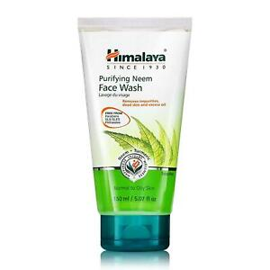 HIMALAYA HERBALS Purifying Neem Face Wash Gel | Cleanses Pores and Acne | 150g