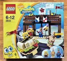 LEGO SPONGEBOB SQUAREPANTS 3833 - KRUSTY KRAB ADVENTURES SEALED NEW