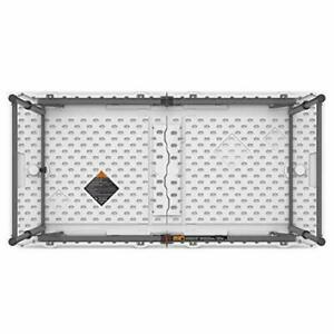 4 x 2 ft (122 x 61 cm) Rectangular Light Commercial Fold-in-Half