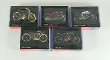 Lot of (5) 1993 Inline Classic Motorcycle Series 1 Factory Set (56 Cards) Sealed