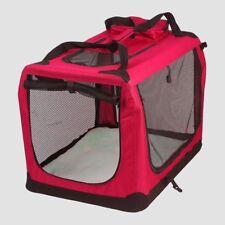 AVC animal de compagnie Porte Rouge Pliage Chien Chat Chiot sac transport (moyen