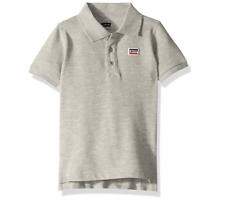 Levi's Big Boys' Short Sleeve Polo Shirt - Grey - L