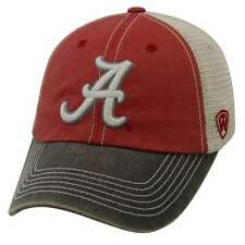 half off 6f109 33dac Alabama Crimson Tide Official NCAA Adjustable Offroad Hat Cap Top of The  World
