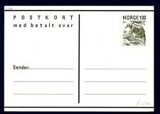 NORWAY - NORVEGIA - Cart. Post. - 1981 - Flora e Fauna 148x105 - cartolina di ri
