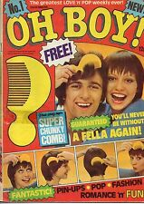 Oh Boy! Magazine 23 October 1976 Issue 1  Flintlock  Les of The Bay City Rollers