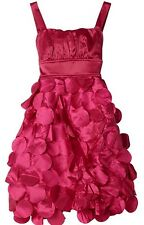Ruby Rox Big Girls' Flying Saucer Dress Fuschia size 14