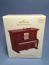 2012 Hallmark Keepsake Ornament PIANO GO TELL IT ON THE MOUNTAIN New Free Ship!