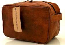 Bolsas de aseo de viaje marrón