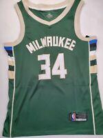 Giannis Antetokounmpo Icon Swingman Jersey Milwaukee #34 Size Medium