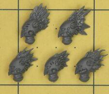 Warhammer 40K Dark Eldar Scourges Helmets