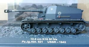 """De Agostini 10,5 cm K18 Sf IVa """"Dicke Max"""" 1942 1:72"""
