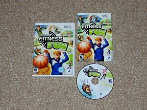 Family Party: Fitness Fun Nintendo Wii Complete