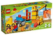 LEGO DUPLO TOOLO Grande Excavateurs Pelle Pelle Jaune Excavateurs