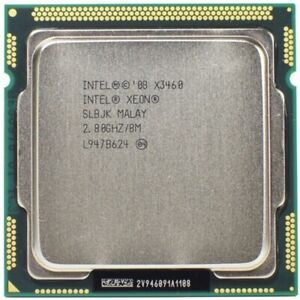 Intel Xeon X3460 2.8GHz 4 Core 8 Thread LGA 1156 CPU(Better than Core i7 880 870