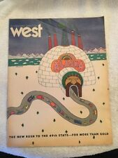 Vintage West Magazine March 2 1969 Los Angeles Times All About Alaska