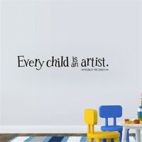 Decal Bedroom Baby Playroom Wall Sticker Removable Home