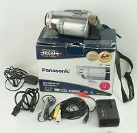 PANASONIC 3CCD NV-GS500 MiniDV Camcorder Video Camera Leica Dicomar SD Card