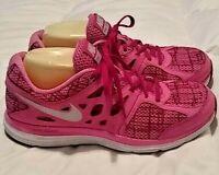 Womens Nike Dual Fusion Lite Pink Running Comfort Walking Running Shoes SZ 10