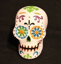 Day Of The Dead Polyresin Sugar Skull Figure Halloween Display Decor Never Used