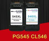 PG545 CL546 remplacement pour canon cartouche d'encre pg 545 cl 546 pour pixma M