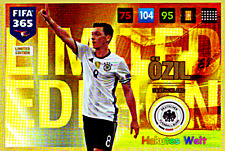 Panini Adrenalyn XL FIFA 365 - 2017 - Özil - limited Edition
