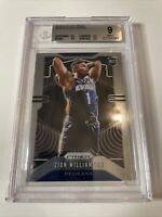 2019-20 Panini Prizm Rookie #248 Zion Williamson BGS 9 MINT New Orleans PELICANS
