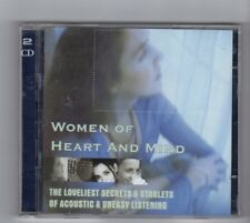 (HW718) Women Of Heart & Mind, 24 tracks various artists - 2002 double CD