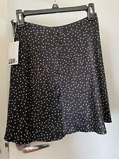 Other Stories Satin Mini Skirt Size 4 New