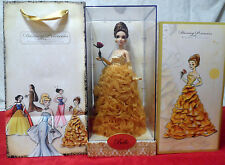 Disney Limited Edition Designer Collection Princess BELLE Doll NEW