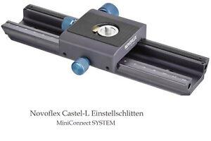 NOVOFLEX Novoflex Castel-L Einstellschlitten - Aussteller - * Fachhändler *