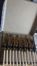 Vintage set of fish knives and forks