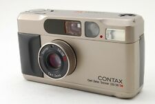 Contax T2 35mm Point&Shoot film camera with case [Excellent] f/s from japan