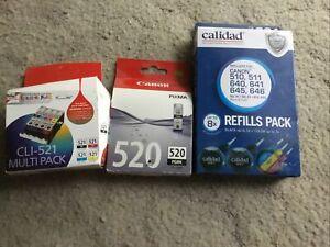 Canon Printer Ink Cli 520 Cli-521 Multi Plus Refill Pack