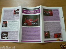 FM71- HONDA VFR800 I MINI POSTER AND INFO MOTORCYCLE,MOTORRAD,MOTORFIETS