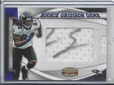 TORREY SMITH 2011 GRIDIRON GEAR GEMS PULLOUT JERSEY AUTO RC #D /303