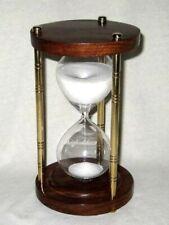 Holz Eieruhr Sanduhr Stundenglass Küche Timer Kinder Geschenk 30//60 Minuten