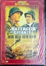 La battaglia dei giganti. Dvd. Editoriale.