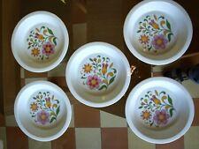 Haviland assiette décors 70's porcelaine Limoges