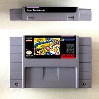 Super Bomberman 1 2 3 4 5 Game 16bit Cartridge Console Nintendo SNES US Version