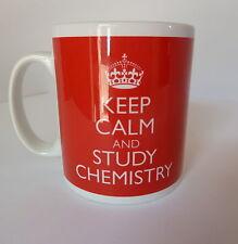 Chemistry Student Keep Calm Mug Gift Present Tea Coffee Teacher Fun University