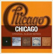Original Album Series by Chicago (CD, Aug-2010, 5 Discs, Warner Bros.)
